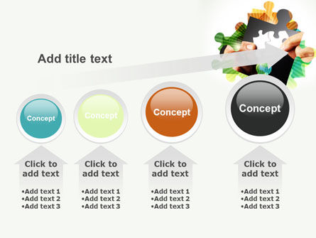Addition Of A Puzzle PowerPoint Template Slide 13