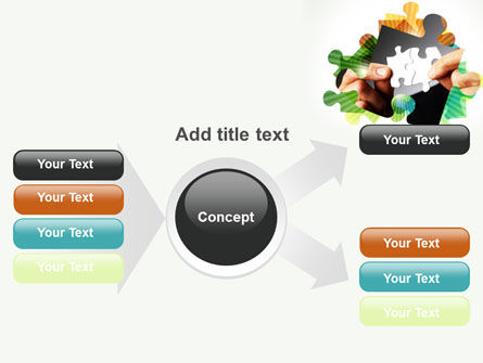 Addition Of A Puzzle PowerPoint Template Slide 14
