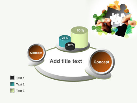 Addition Of A Puzzle PowerPoint Template Slide 16