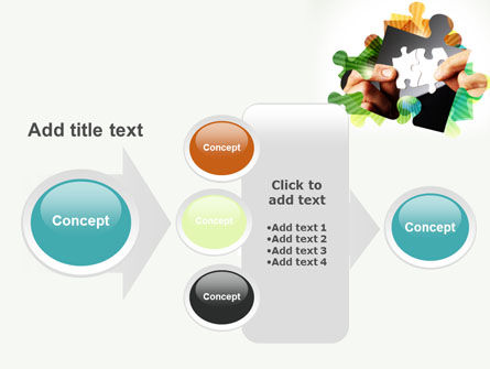 Addition Of A Puzzle PowerPoint Template Slide 17