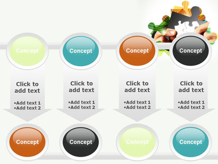 Addition Of A Puzzle PowerPoint Template Slide 18