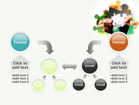 Addition Of A Puzzle PowerPoint Template Slide 19