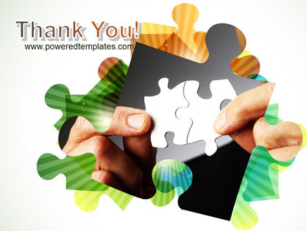 Addition Of A Puzzle PowerPoint Template Slide 20