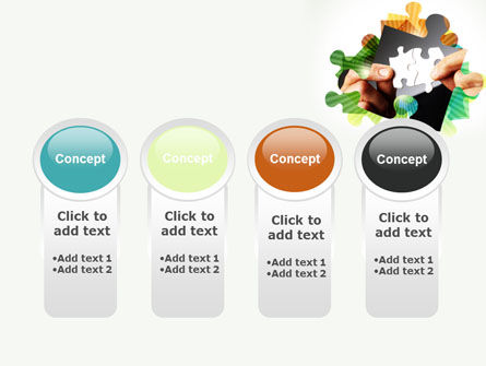 Addition Of A Puzzle PowerPoint Template Slide 5