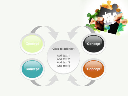 Addition Of A Puzzle PowerPoint Template Slide 6