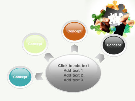 Addition Of A Puzzle PowerPoint Template Slide 7