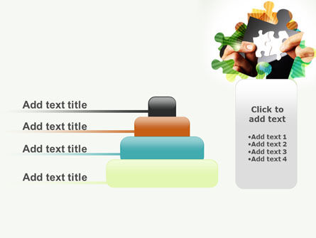 Addition Of A Puzzle PowerPoint Template Slide 8