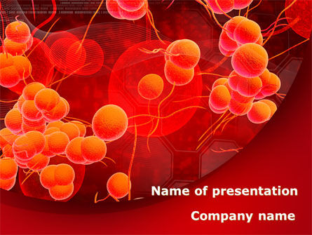 Medical: Blood Cells PowerPoint Template #08953