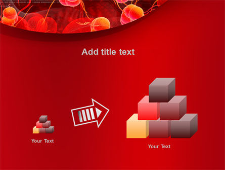 Blood Cells PowerPoint Template Slide 13