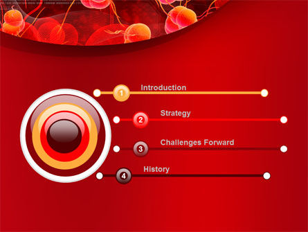 Blood Cells PowerPoint Template, Slide 3, 08953, Medical — PoweredTemplate.com