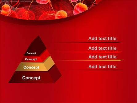 Blood Cells PowerPoint Template, Slide 4, 08953, Medical — PoweredTemplate.com