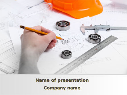 Careers/Industry: Technical Engineering PowerPoint Template #08955