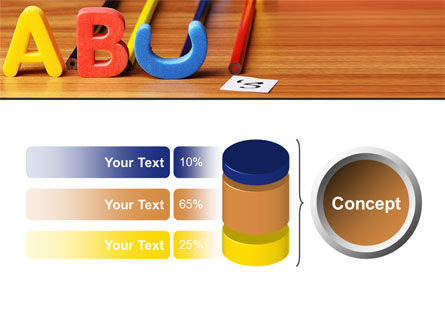 Educational Letters PowerPoint Template Slide 11