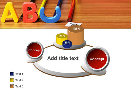 Educational Letters PowerPoint Template Slide 16