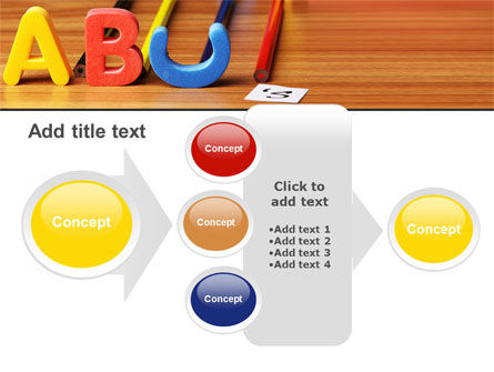 Educational Letters PowerPoint Template Slide 17