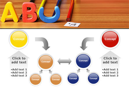 Educational Letters PowerPoint Template Slide 19