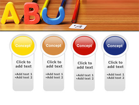 Educational Letters PowerPoint Template Slide 5