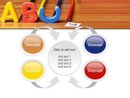 Educational Letters PowerPoint Template Slide 6