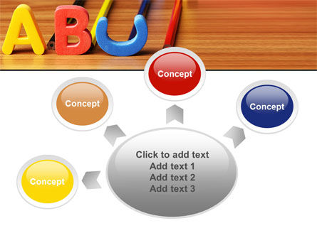 Educational Letters PowerPoint Template Slide 7