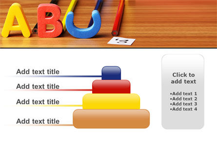 Educational Letters PowerPoint Template Slide 8