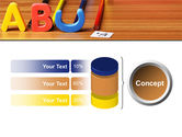 Educational Letters PowerPoint Template#11