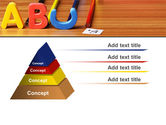 Educational Letters PowerPoint Template#12
