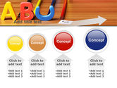Educational Letters PowerPoint Template#13