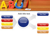 Educational Letters PowerPoint Template#14