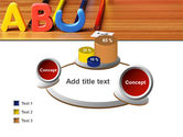 Educational Letters PowerPoint Template#16