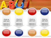 Educational Letters PowerPoint Template#18
