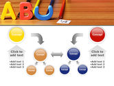 Educational Letters PowerPoint Template#19