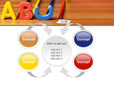 Educational Letters PowerPoint Template#6
