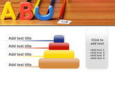 Educational Letters PowerPoint Template#8
