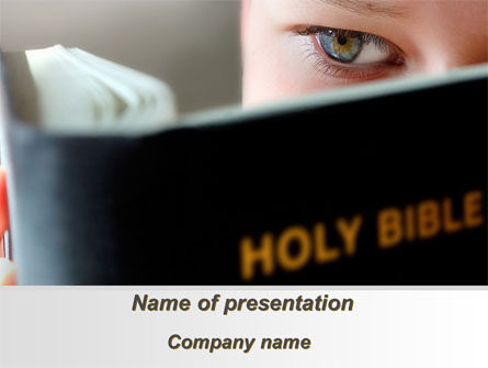 Holy Bible Study PowerPoint Template