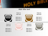 Holy Bible Study PowerPoint Template#18
