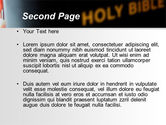 Holy Bible Study PowerPoint Template#2
