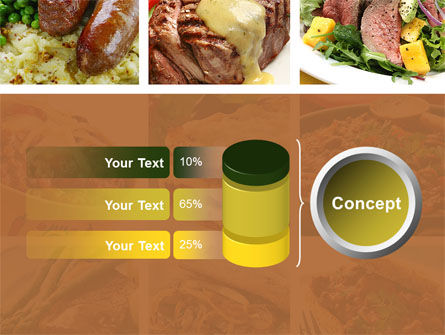 Cooked Food PowerPoint Template Slide 11