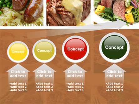 Cooked Food PowerPoint Template Slide 13