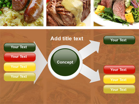 Cooked Food PowerPoint Template Slide 14