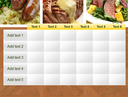 Cooked Food PowerPoint Template Slide 15