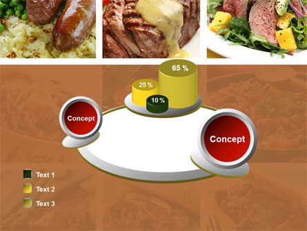 Cooked Food PowerPoint Template Slide 16