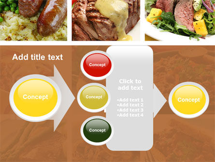 Cooked Food PowerPoint Template Slide 17