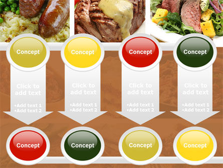 Cooked Food PowerPoint Template Slide 18