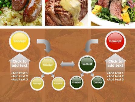 Cooked Food PowerPoint Template Slide 19
