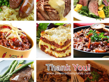 Cooked Food PowerPoint Template Slide 20