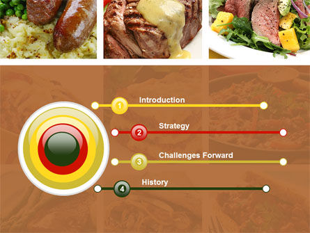 Cooked Food PowerPoint Template Slide 3