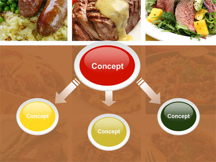 Cooked Food PowerPoint Template Slide 4
