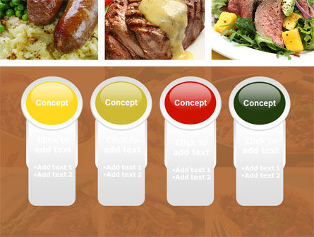 Cooked Food PowerPoint Template Slide 5