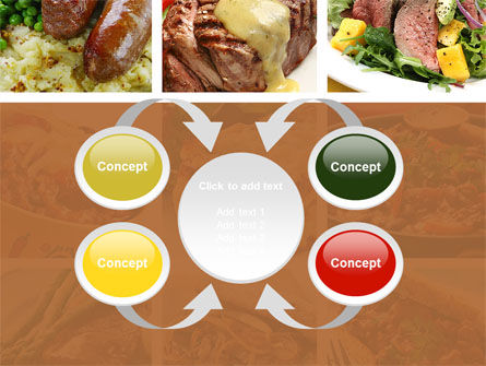 Cooked Food PowerPoint Template Slide 6