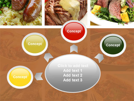 Cooked Food PowerPoint Template Slide 7